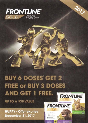 Savings on Frontline Gold