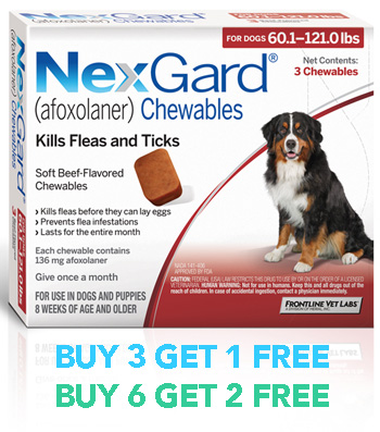 Coupon for Nexgard