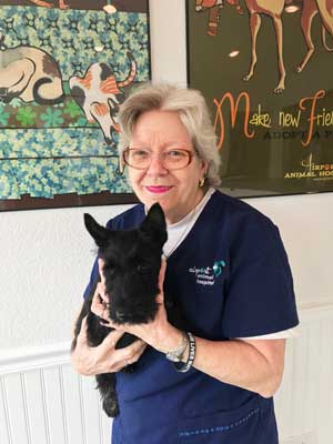Veterinary Assistant and Groomer: Jan